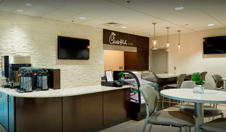 Chick-Fil-A and Coffee Bar