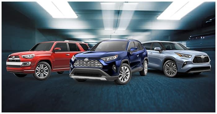 New SUV Models Milton Martin Toyota