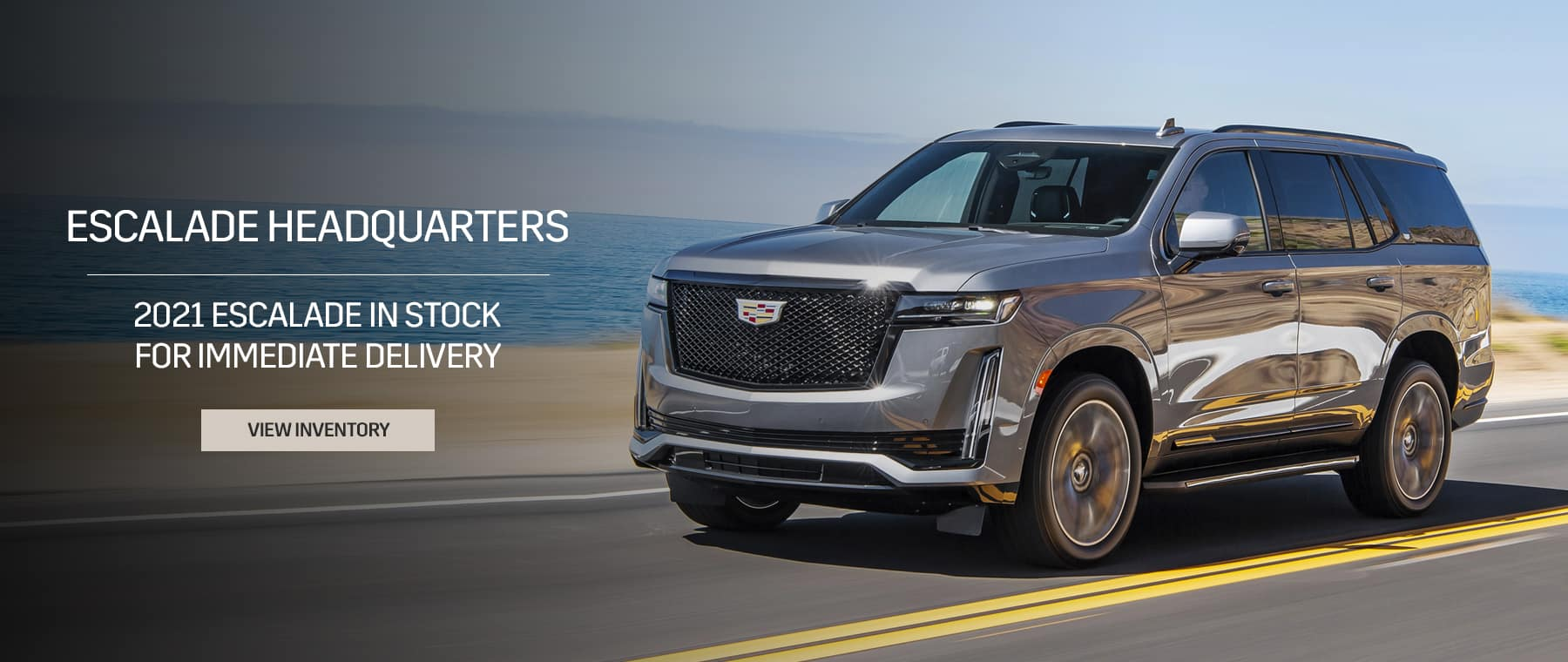Escalade's available for pre-order