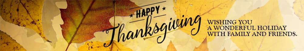 Wishing you a Happy Thanksgiving from Murfreesboro Hyundai Volkswagen in Murfreesboro TN