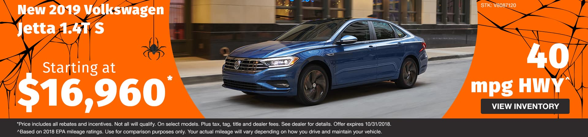 Drive home a new 2018 Volkswagen Jetta starting at just $16,690 in Murfreesboro TN
