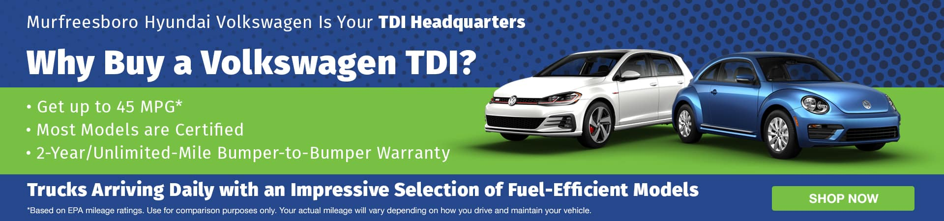 Used Volkswagen TDIs for sale in Murfreesboro TN