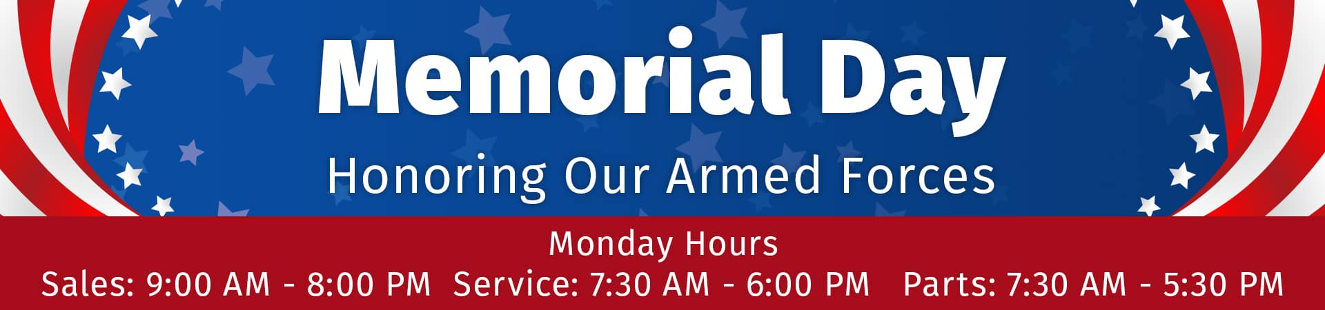 Honoring our armed forces this Memorial Day in Murfreesboro TN