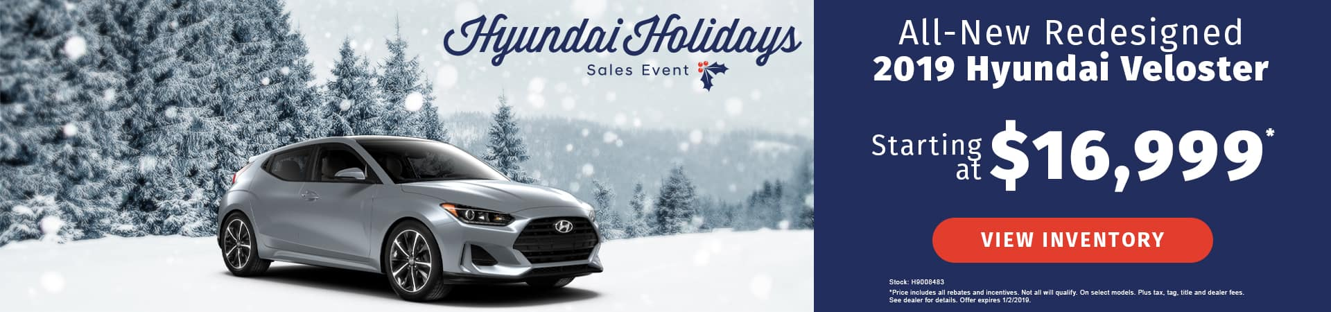 Drive an all-new 2019 Hyundai Veloster starting at just $16,999 in Murfreesboro TN