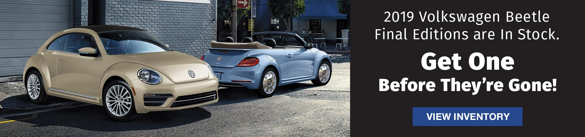 Drive home a new 2019 Volkswagen Beetle Final Edition today in Murfreesboro TN