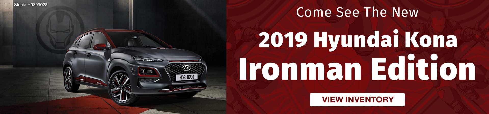 Check out the new 2019 Hyundai Kona Ironman Edition in Murfreesboro TN