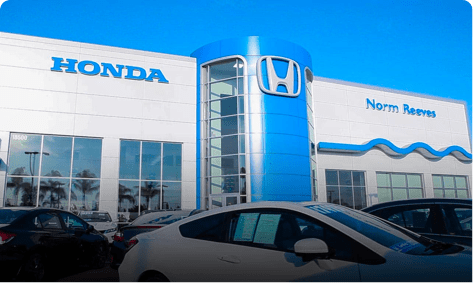 Norm Reeves Honda Superstore view
