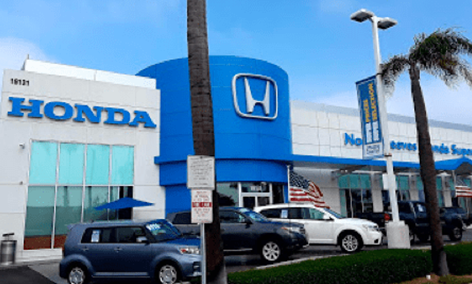 Updated Beach Honda Store