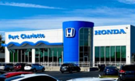 Updated Charlotte Honda Store