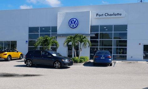 Updated Charlotte VW Store