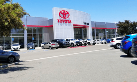 Updated Toyota Store