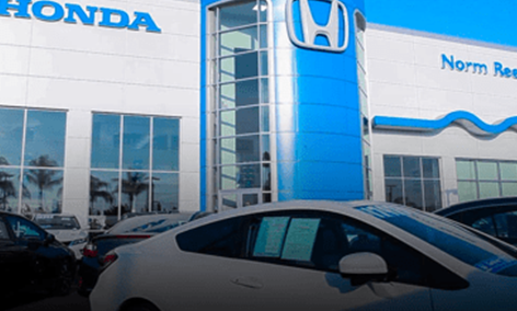 Updated Vista Honda Store