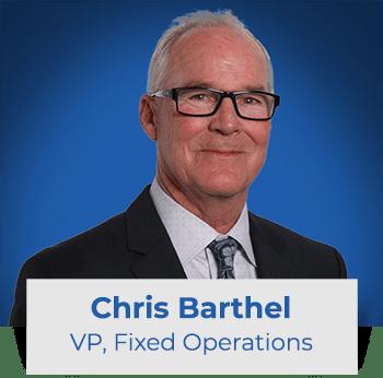 Chris Barthel: VP Fixed Ops