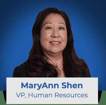 MaryAnn Shen: VP HR