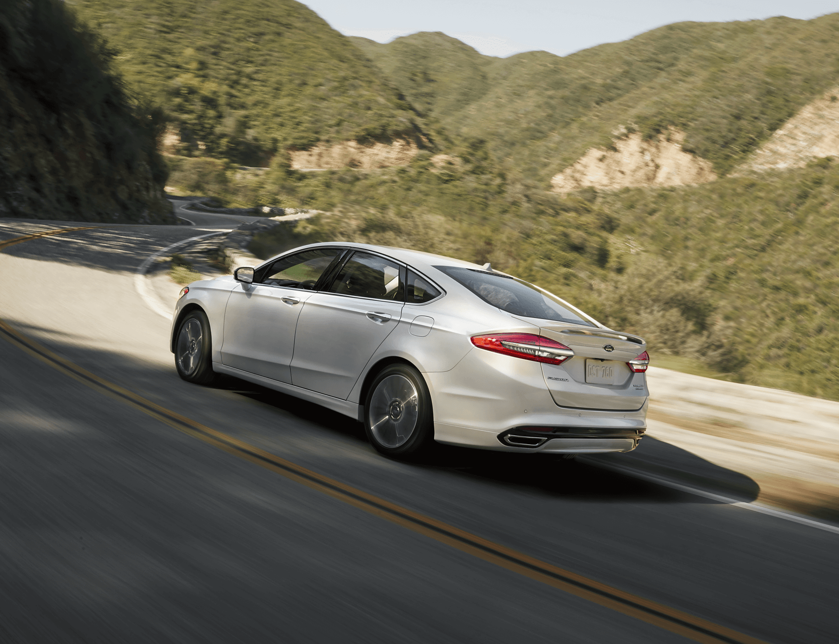2020 Ford Fusion Hybrid White Mountain Road Norm Reeves Superstore