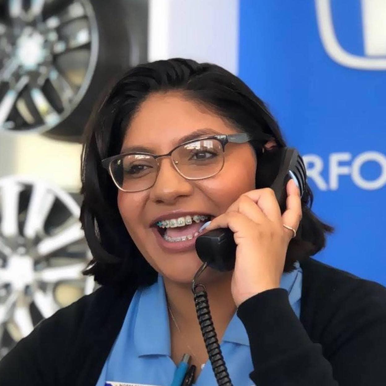 honda business center girl