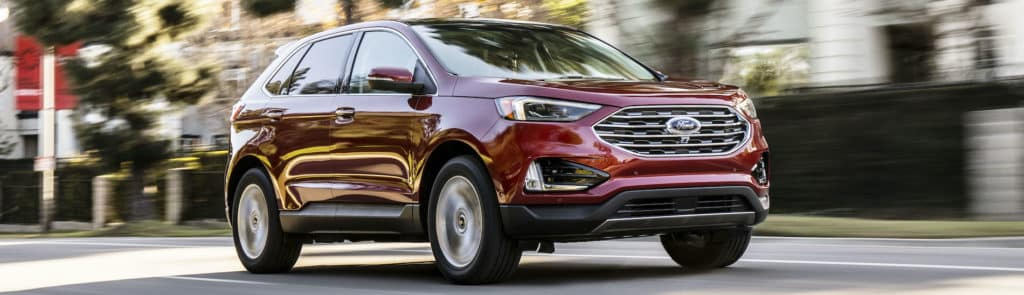 Ford Edge Red Banner