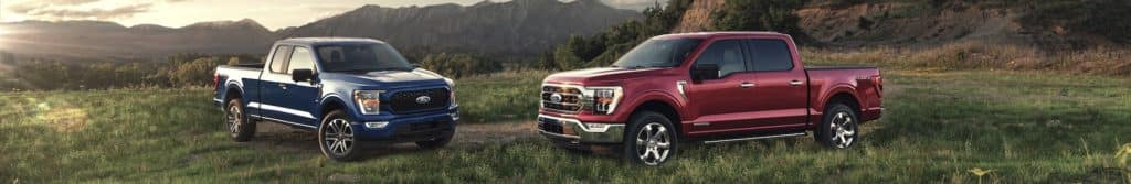 Ford F-150 Vehicle Line Up