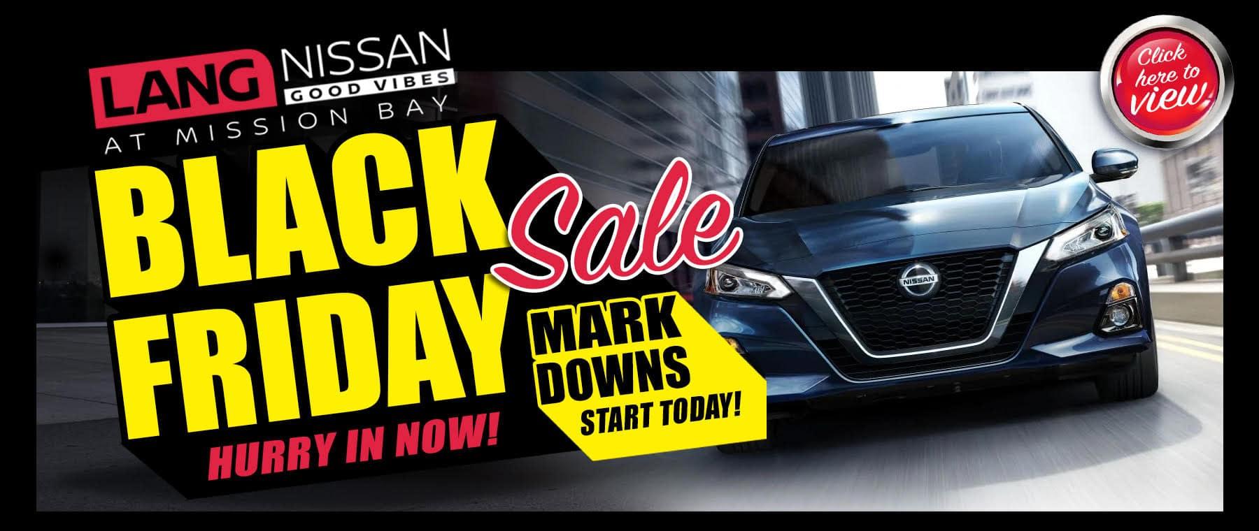 Black Friday Car Sale