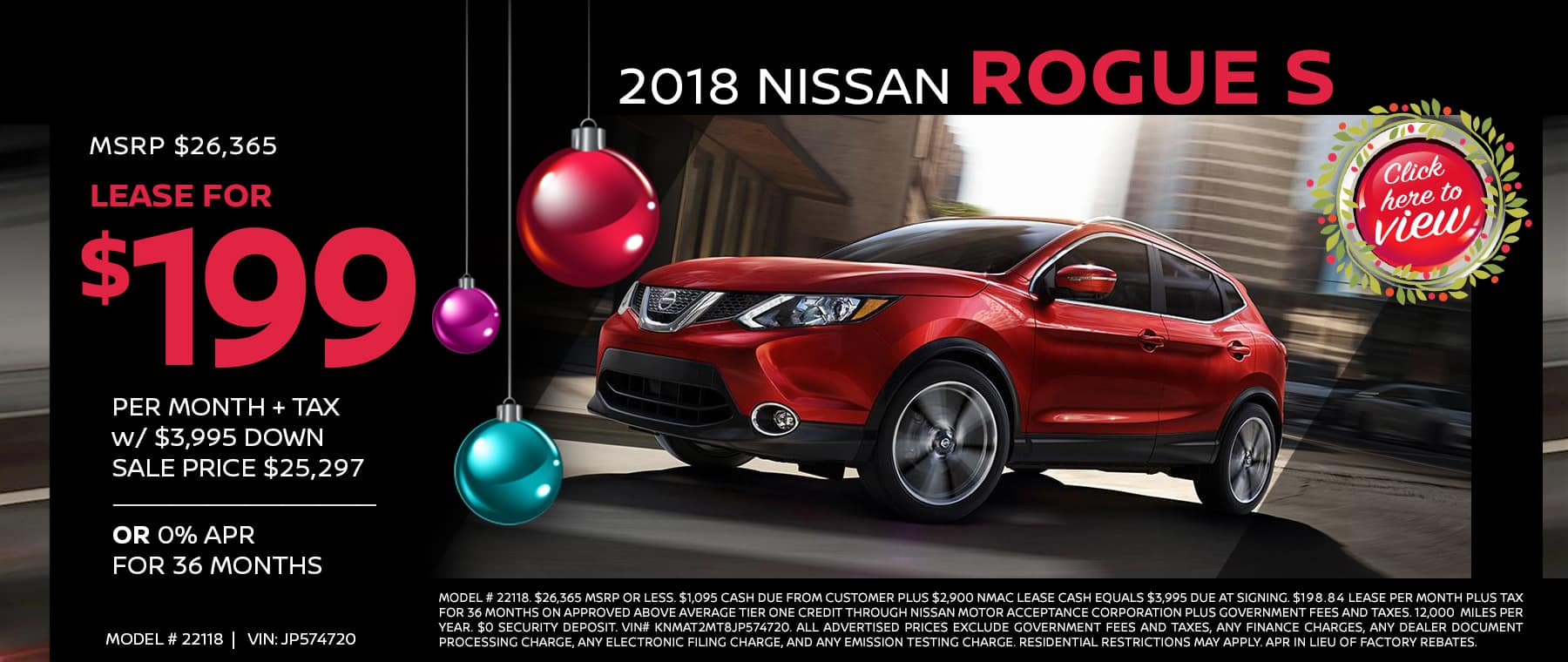 nissan rogue 2018 end of year