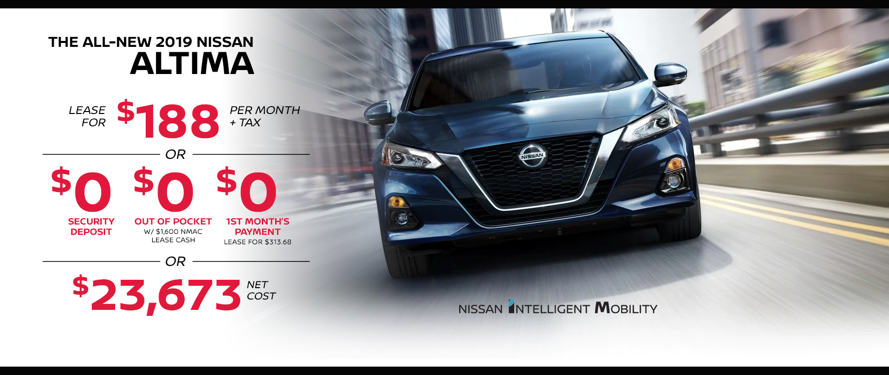 san diego altima lease special