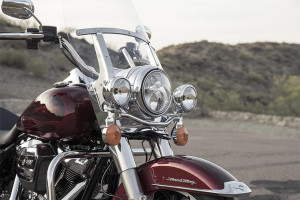 2017 Harley-Davidson® Road King® headlamp