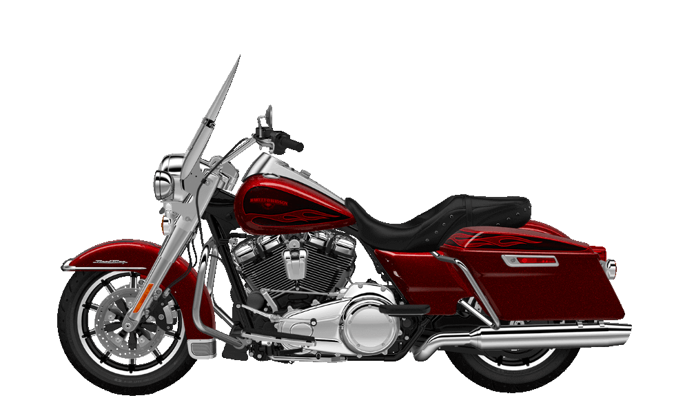 Road King Hard Candy Hot Rod Red Flake