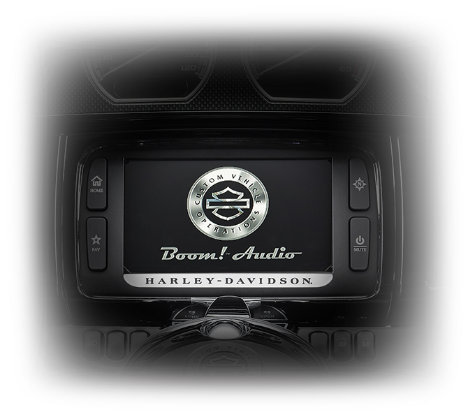 CVO Limited infotainment