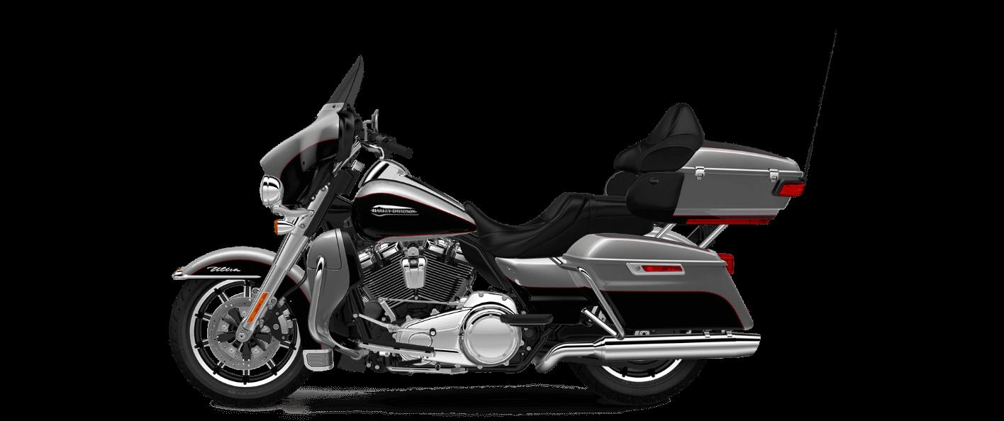 Billet Silver-Vivid Black Electra Glide® Ultra Classic®