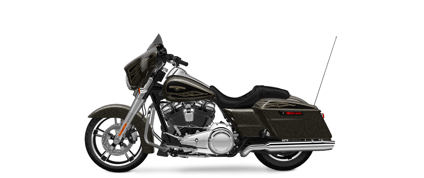 Black Gold Flake Street Glide® Special