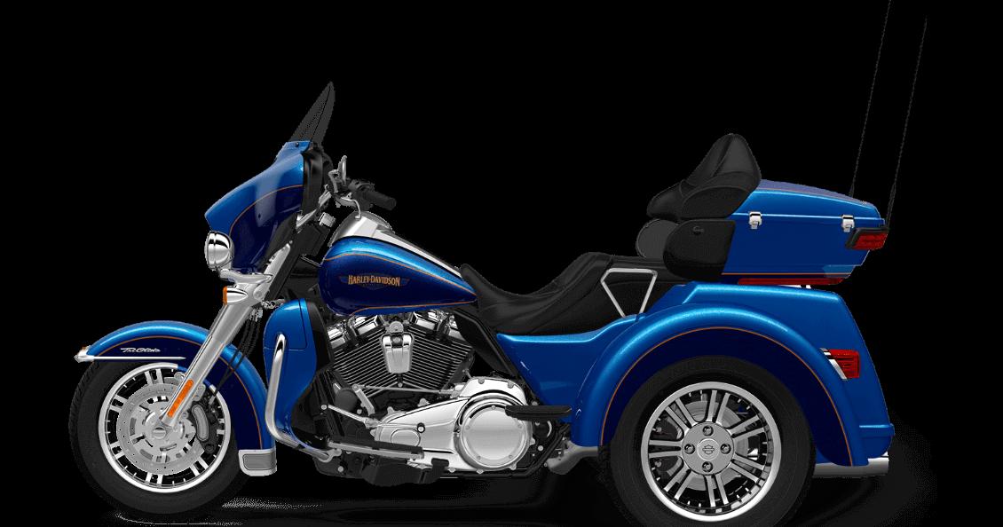 Bonneville Blue Harley-Davidson® Tri Glide® Ultra