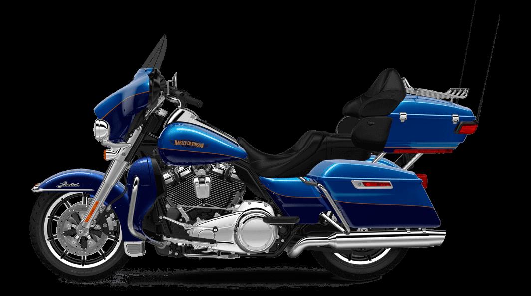 Bonneville Blue Harley Davidson Ultra Limited