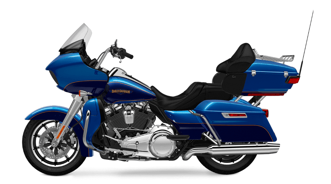 Bonneville Blue Road Glide® Ultra