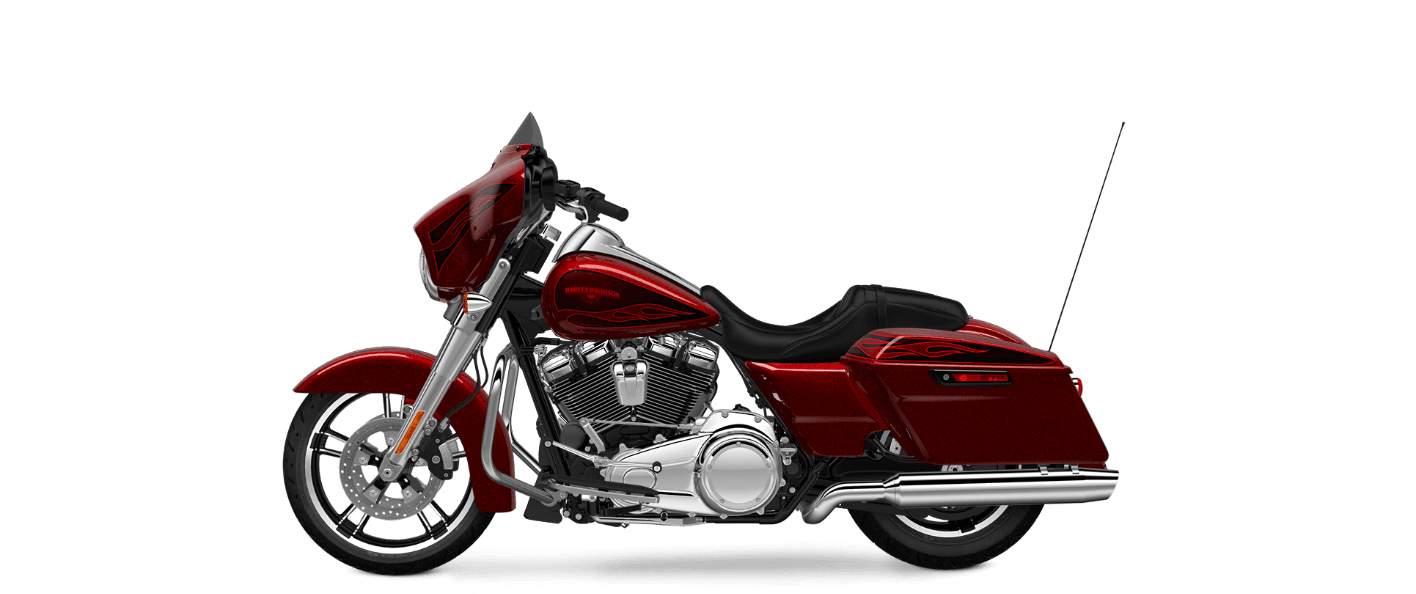Hot Rod Red Flake Street Glide® Special