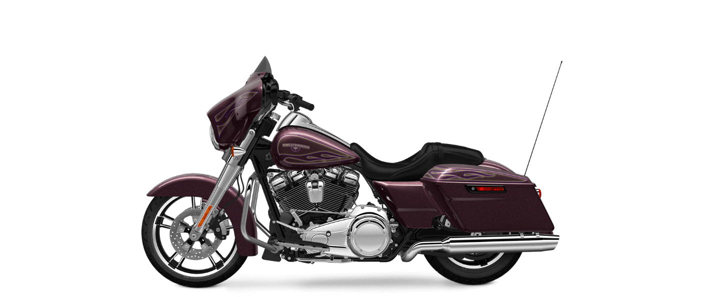 Mysterious Purple Flake Street Glide® Special
