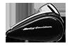 Road Glide® Special Vivid Black paint