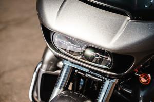 Road Glide® Ultra headlamp