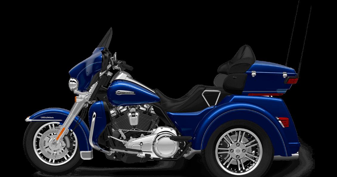Superior Blue Harley-Davidson® Tri Glide® Ultra