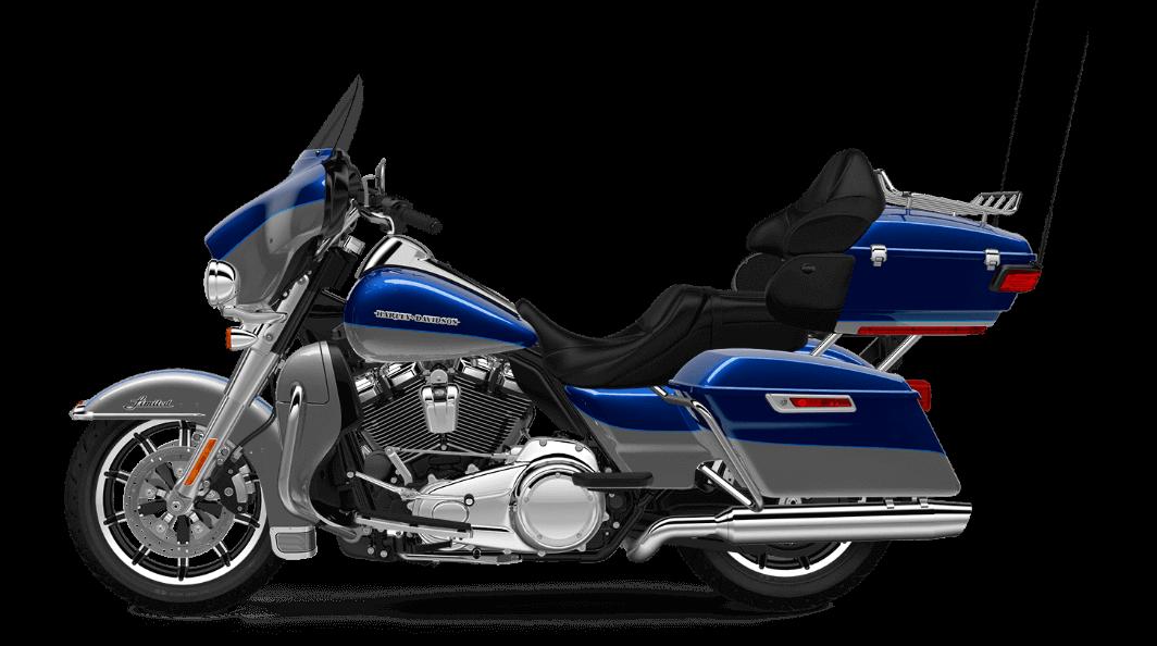 Superior Blue Harley Davidson Ultra Limited