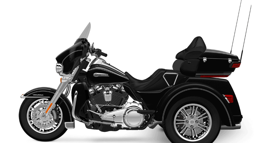 Vivid Black Harley-Davidson® Tri Glide® Ultra