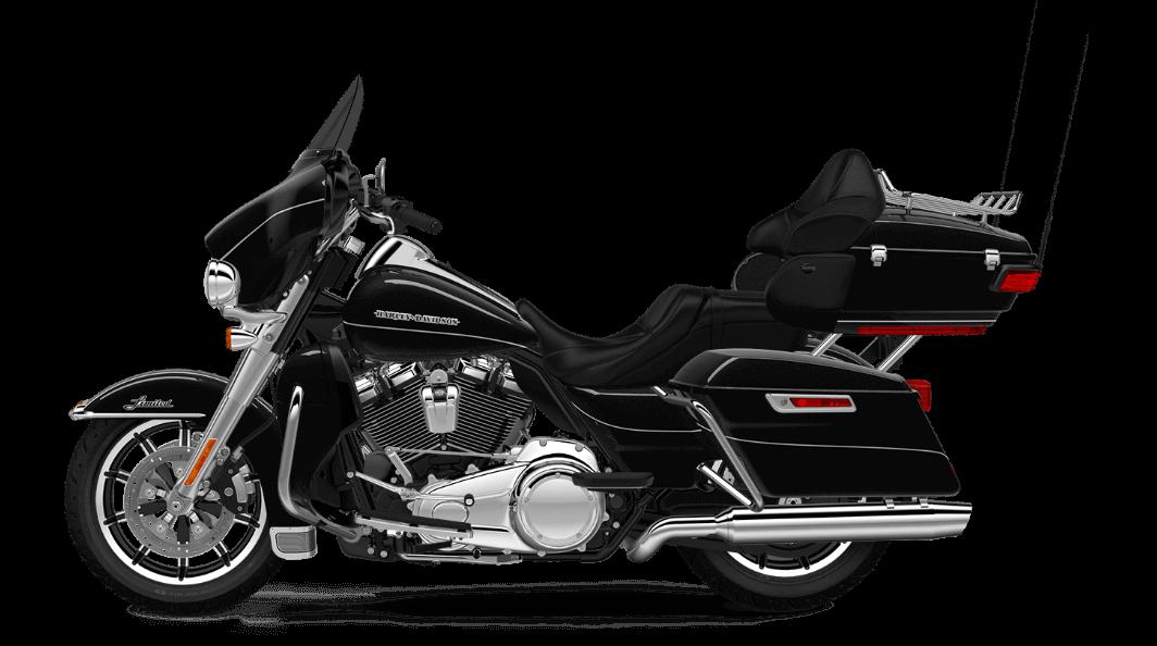 Vivid Black Harley Davidson Ultra Limited
