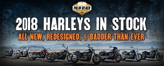 Meet your 2018 Harley lineup | Palm Beach Harley-Davidson