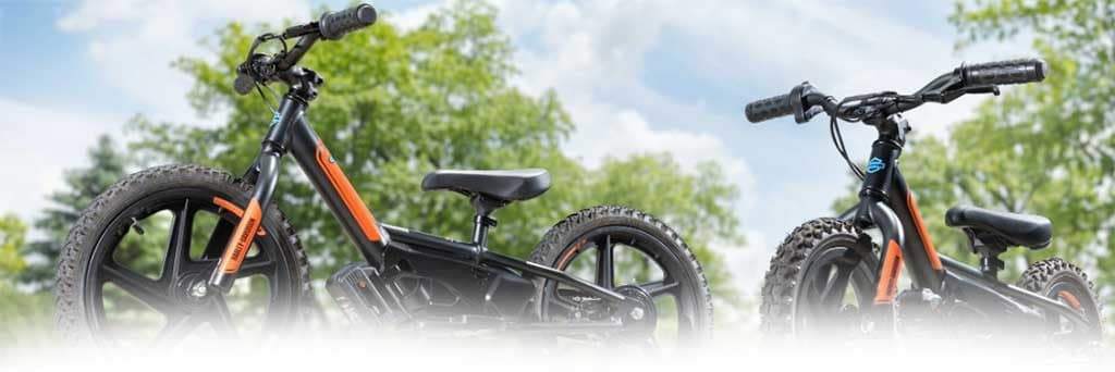 Harley IRON E Electric Bicycles for Kids