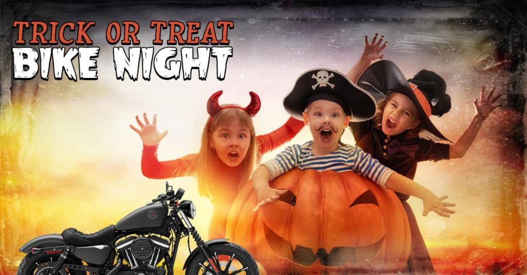 Trick or Treat Bike Night