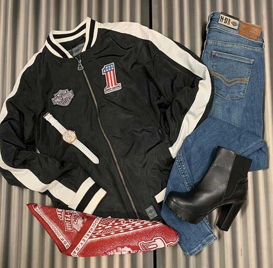 Harley Outfit of the Day