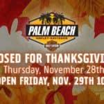 Nov. 28 Palm Beach H-D Closed for Thanksgiving