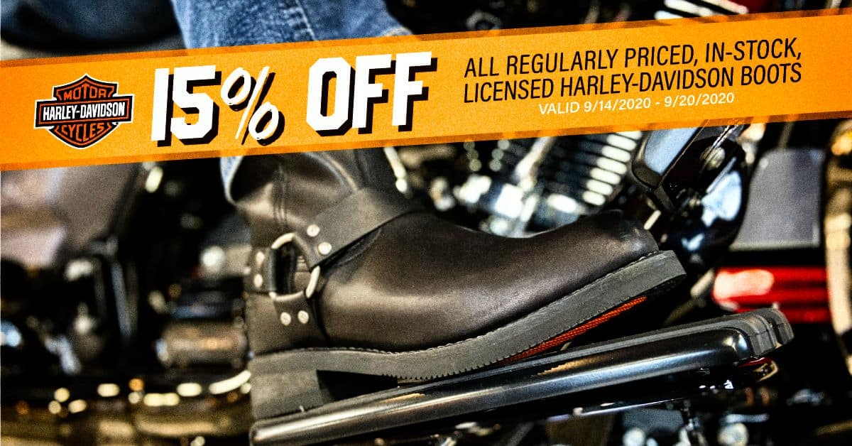 15% OFF Licensed Boots