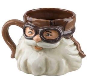 HDX-98633 Harley Santa Sculpted Coffee Mug