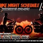 Bike Night Schedule