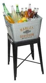 HDX-98508 - Harley Metal Drink Cooler with Stand